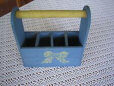 Vintage Holz Küchenhalter oder für den Garten, Utensilien
