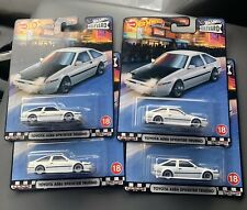 2020 Hot Wheels Boulevard Toyota AE86 Sprinter Trueno - Lot Of 4