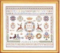 Scottish Regions Highland Cross Stitch KitBritain in Stitches35.5cm x 35cm