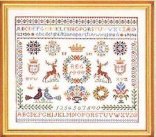 Eva rosenstand sampler cross stitch kit | 40cm x 45cm |
