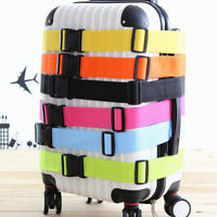 Useful Travel Luggage Suitcase Strap Baggage Backpack Safe Belt ReinforcemenNWUS