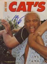 Wwe Wwf Ernest el gato Miller autografiado foto firmada a mano foto lucha libre