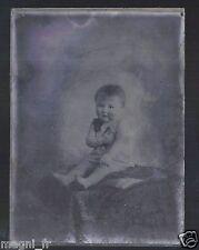 Plaque photo en verre - Bébé  (Ref. 24)
