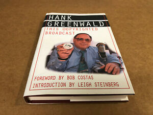 Book; Sports Biography, Hank Greenwald-This Copyrighted Broadcast, Exec-NM Cond.