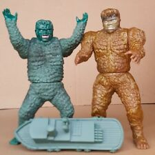 Y-MSF War of the Gargantuas SANDA & GAIRA 6 inch figure set WITH BOAT
