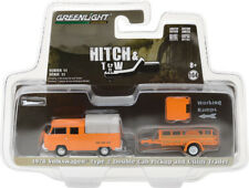 Greenlight Hitch & Tow 1978 VW Volkswagen Double Cab and Utility Trailer