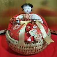 Vintage Japanese doll Izume Ningyo Baby Traditional Figure Plush lovely
