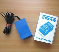 TITAN Typ 401 F Trafo Transformator für FALLER Auto-Rennbahn 16V~ Modellbahn OVP