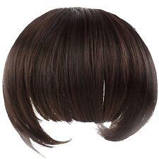 Bella Frangia a clip fibra sintetica nuova ragazza clip di capelli 35g Fran K6N8