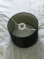 Set of 2  Black Lampshades