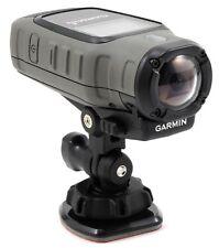 NEW Garmin VIRB Elite Action Dark GPS Camera 1080p HD 16 MP Mounts  010-01088-15