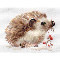 Counted Cross Stitch Kit ALISA - Hedgehog