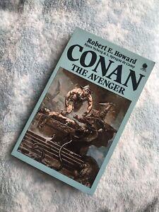 Conan The Avenger- Robert E. Howard - Sphere Books