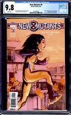 NEW MUTANTS VOL. 2 (2003) #9 CGC 9.8 WHITE PAGES 1ST APP. OF BEEF BEVATRON