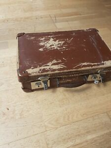 Small Vintage Brown Case