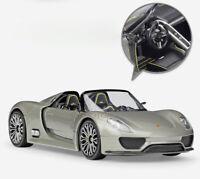 Welly 1/24 Porsche 918 Spyder/Concept Diecast Model Racing Car Colors