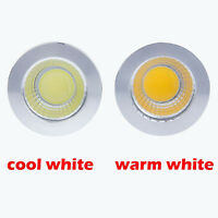MR16 E27 GU10 6W 9W 12W Warm Cool White Spotlight Lamp COB LED Bulbs Dimmable