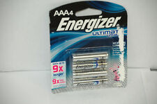 Energizer Ultimate Lithium L92BP-4 AAA Battery 4 Count 9x Longer 4 AAA's