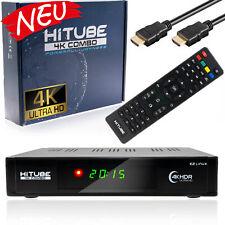 HiTube UHD 4K Combo Sat-Receiver DVB-S2 DVB-C/T2 Receiver Enigma2 E2 mit WIFI