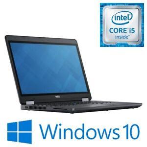 """Dell Latitude E5470 Laptop Intel i5 6300U 8G 240G SSD WiFi 14"""" HDMI Win 10 Pro"""