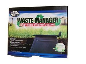 Four Paws Waste Manager Dog Waste Disposal System Brand New 18275 E01