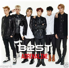BEAST B2ST Second Japanese single [ADRENALINE] (CD only) Regular Edition