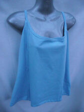 BNWT Womens Sz 20 Undercoverwear Pretty Sky Blue Soft Stretch Singlet Top RRP$35
