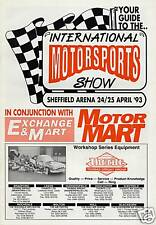 International Motorsports Show - Guide 1993