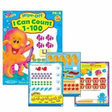 I Can Count 1-100 Wipe Off Reusable Educational Activity Book
