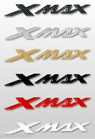 2 ADESIVI/STICKERS 3D SCRITTA XMAX compatibili per SCOOTER YAMAHA X MAX dal 2010