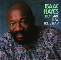 "ISAAC HAYES hey girlike's rap 650236 7 uk cbs 7"" PS EX/EX"
