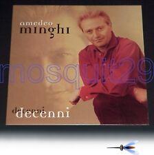 """AMEDEO MINGHI """"DECENNI"""" RARO LP 1998 - SIGILLATO"""