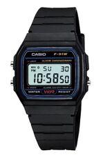 BRAND NEW GENUINE  Casio F-91W-1YER  Stopwatch Alarm Classic Black Watch SALE