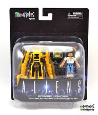 Aliens Minimates Deluxe Power Loader with Ripley & Battle Damaged Alien