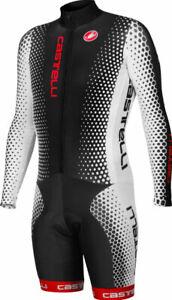 Castelli Speedsuit Cycling Skin Suit Size XS-XXL 3/4 Sleeve