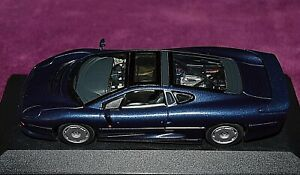 RARE JAGUAR XJ 220 1992 MINICHAMPS 1:43 PMA ref 430102220 no-SPARK-TSM-PROVENCE