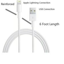 iPhone Charger/Data-Transfer Cable - 6ft USB-Lightning Cord: NEW