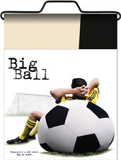 SOCCERBALL bean bag adult  size