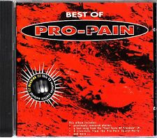 PRO-PAIN- The Best of CD (1998) Hardcore Metal + Live & Unreleased GREATEST HITS