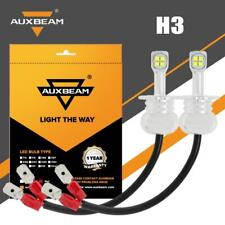 AUXBEAM H3 LED Fog Light Lamp Bulbs for Nissan Maxima 1986-2006 Sentra 1993-2003