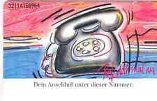 TELEFONKARTE:: RUF DOCH MAL AN  P 15   12.92  500.000  VOLL