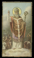 santino-holy card ediz. EB  n.2014 S.BIAGIO V.M.