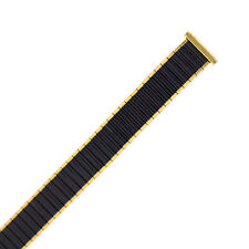 Tech Swiss Watch Band Expansion Black and Gold