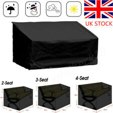 Seat Covers Garden Long Bench Cover Waterproof UV Heavy Duty 2-4 Seater UK SHIP