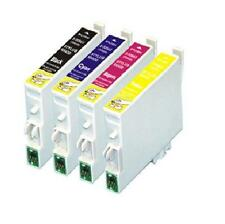 10x Generic ink cartridges T0631+T0632+T0633+T0634 for EpsonCX4100,CX4700,CX5700