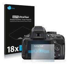 18x Savvies Films protection Ecran pour Nikon D5200 Protecteur