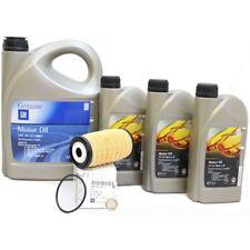 Opel GM 5w-30 Dexos 2 Longlife Motoröl 8 Liter + Original Ölfilter 95523613 NEU