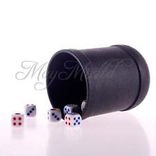 KTV Special Bar Game Pub Decider Shaker Craps Yahtzee Dice Straight Cup 6 Dice H