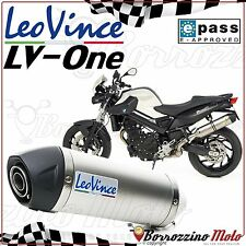 SILENCIEUX APPROUVE LEOVINCE LV ONE INOX BMW F 800 R F800R ie 2009 2010