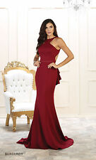 NEW BRIDESMAIDS SIMPLE PROM EVENING PARTY GOWNS LONG STRETCH DRESSES UNDER $100